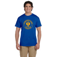 LPC Gildan UniSex Cotton Short Sleeve Gym Shirt -Royal Blue (LCP-111-RO)