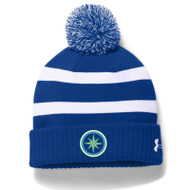 ESP Under Armour Adult Blank Pom Beanie - Royal Blue (ESP-051-RO)