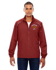 SBA Core 365 Men's Motivate Unlined Lightweight Music Jacket - Red
