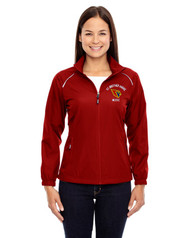 SBA Core 365 Women's Motivate Unlined Lightweight Music Jacket - Red