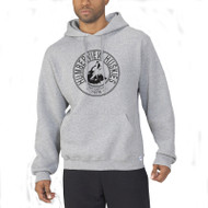 HSS Russell Men's Dri-Power Fleece Hoodie - Oxford Grey (HSS-011-GY)