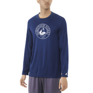 HSS Russell Men's Dri-Power Core Performance Long Sleeve Tee - Navy (HSS-013-NY)