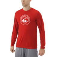 HSS Russell Men's Dri-Power Core Performance Long Sleeve Tee - Red (HSS-013-RE)