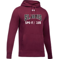 JCS Under Armour Men's Hustle Fleece Hoody - Maroon (JCS-002-MA)