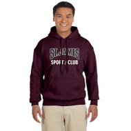 CS Gildan Adult Heavy Blend 50/50 Hoody - Maroon (JCS-011-MA)