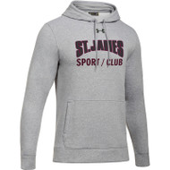 JCS Under Armour Men's Hustle Fleece Hoody - Grey (JCS-002-GY)