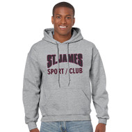 JCS Gildan Adult Heavy Blend 50/50 Hoody - Grey (JCS-011-GY)