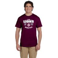 JCS Gildan Ultra Cotton Adult Short Sleeve T-Shirt - Maroon (JCS-013-MA)