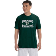 LSS Gildan Men's Performance Tee - Forest Green (LSS-011-FO)