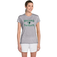 LSS Gildan Women's Performance Tee - Sport Grey (LSS-031-SG)