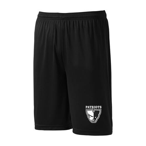 LSS ATC Adult Dry Fit Shorts - Black (LSS-013-BK)