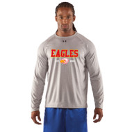 ESS Under Armour Men's Long Sleeve Locker T - True Grey (ESS-002-TG)