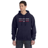 HLS Russell Men's Dri-Power Fleece Hoodie - Navy (HLS-013-NY)