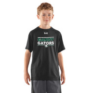 GSP Under Armour Youth Short Sleeve Locker Tee - Black (GSP-042-BK)