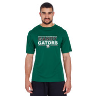 GSP Team 365 Adult Zone Performance T-Shirt - Forest green (GSP-012-FO)