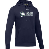 EMP Under Armour Adult Hustle Fleece Hoody - Navy (EMP-003-NY)
