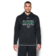SRS Under Armour Men's Double Threat Fleece Hoody - Black (SRS-001-BK)