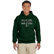 SRS Gildan Adult Heavy Blend 50/50 Hoodie - Forest (SRS-011-FO)