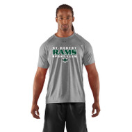 SRS Under Armour Men's Short Sleeve Locker Tee - True Grey (SRS-002-GY)