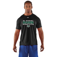 SRS Under Armour Men's Short Sleeve Locker Tee - Black (SRS-002-BK)