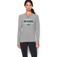 SRS Under Armour Women's Locker Long Sleeve T-Shirt - True Grey (SRS-023-GY)