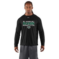 SRS Under Armour Men's Locker Long Sleeve T-Shirt - Black (SRS-003-BK)