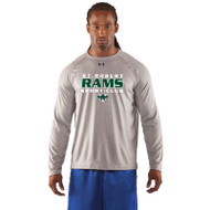 SRS Under Armour Men's Locker Long Sleeve T-Shirt - True Grey (SRS-003-GY)