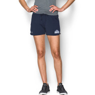 JFR Under Armour Women's Game Time Short - Navy (JFR-145-NY)