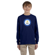 SCS Gildan Youth Ultra Cotton Long Sleeve T-Shirt - Navy (SCS-047-NY)