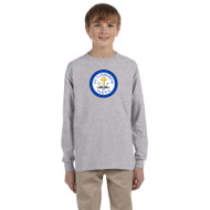 SCS Gildan Youth Ultra Cotton Long Sleeve T-Shirt - Sport Grey (SCS-047-GY)