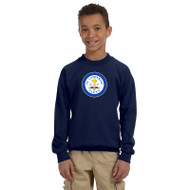 SCS Gildan Youth Heavy Blend Crew Neck Sweatshirt - Navy (SCS-048-NY)