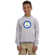 SCS Gildan Youth Heavy Blend Crew Neck Sweatshirt - Sport Grey (SCS-048-GY)