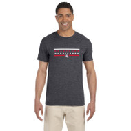 HLS Gildan Men's Softstyle Fitted T-Shirt - Dark Heather (HLS-011-DH)