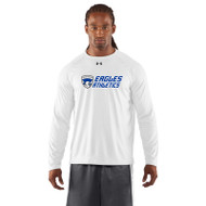 FBS Under Armour Men's Locker Tee Long Sleeve - White (FBS-202-WH)