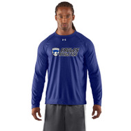 FBS Under Armour Men's Locker Tee Long Sleeve - Royal (FBS-202-RO)