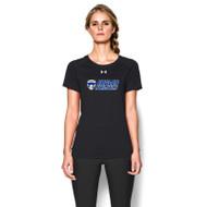 FBS Under Armour Women's Locker Tee Short Sleeve - Black (FBS-025-BK)