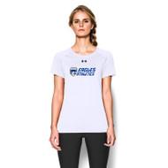 FBS Under Armour Women's Locker Tee Short Sleeve - White (FBS-025-WH)