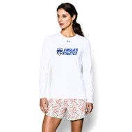 FBS Under Armour Women's Locker Tee Long Sleeve - White (FBS-026-WH)