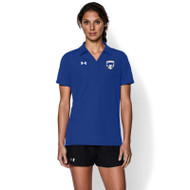 FBS Under Armour Women's Performance Polo - Royal (FBS-028-RO)