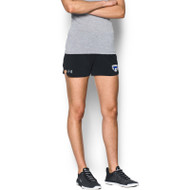 FBS Under Armour Women's Game Time Short - Black (FBS-029-BK)