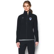 FBS Under Armour Women's Squad Jacket - Black (FBS-023-BK)