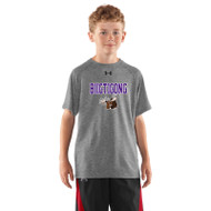 BNE Under Armour Youth Short Sleeve Locker T-shirt - True Grey (BNE-041-TG)
