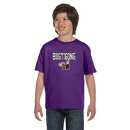 BNE Gildan Youth T-Shirt Dryblend - Purple (BNE-046-PU)