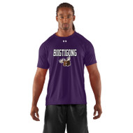 BNE Under Armour Mens's Short Sleeve Locker T-shirt - Purple (BNE-001-PU)
