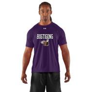 BNE Under Armour Mens's Short Sleeve Locker T-shirt - Purple (BNE-001-PU)