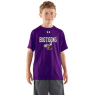 BNE Under Armour Youth Short Sleeve Locker T-shirt - Purple (BNE-041-PU)