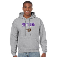 BNE Gildan Adult Heavyweight Blend Hood Sweatshirt - Sports Grey (BNE-012-SG)