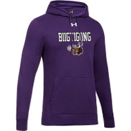 BNE Under Armour Men's Hustle Fleece Hoody - Purple (BNE-002-PU)