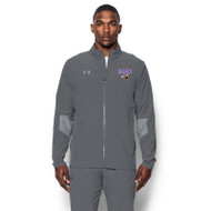 BNE Under Armour Men's Squad Woven Warm-Up Jacket - Graphite (BNE-003-GH)