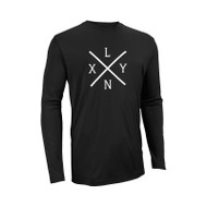 SLS Men's Dri-Power Core Performance Long Sleeve Tee - Black